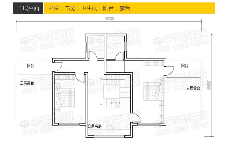 18x10米农村自建房设计图方案,这套户型应该能满足您的愿望
